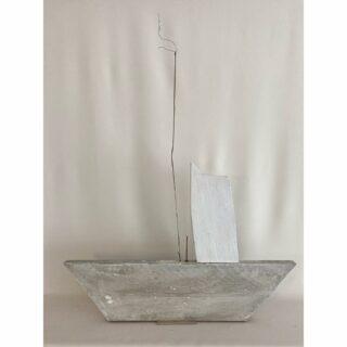 Boat, artobject mixed media 97 x 77 3 cm #boatinart #artboat #artobject #mixedmediasculpture #mixedmediaart #kunstobject #modernart #foundobjectartist #foundobjectart #trashart #trashartist