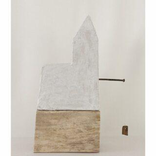 Waterhouse, object mixed media, 19 x 43 x 10 cm #artobject #houseinart #modernartobject #modernart #modernartist #contemporaryart #mixedmediaart #mixedmedia