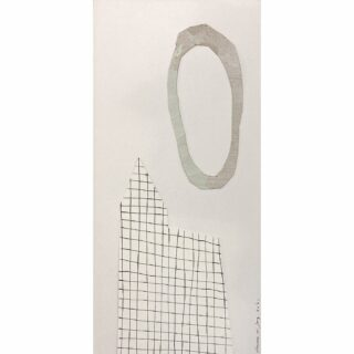 Full moon 15 x 32 cm Poplars by lake 24 x 30 cm #mixedmediaonpaper #mixedmedia #mixedmediaart #paperart #artonpaper #collageart #collageartwork #modernart #authenticart #zeitgenössischekunst