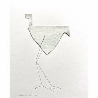 More birds, papercollage/mixed media 24 x 30 cm #paperart #papercollageart #mixedmediaart #mixedmedia #paperartist #paperartworks #androdejong #androdejongart  #artgallerys #birdsinart